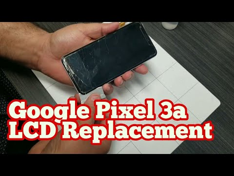Google Pixel 3A Screen LCD Replacement Tutorial