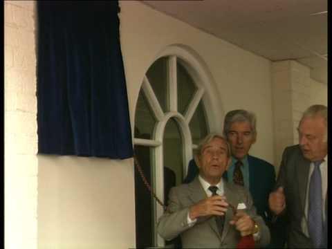 Norman Wisdom Plaque Unveiling at Pinewood Studios 1997