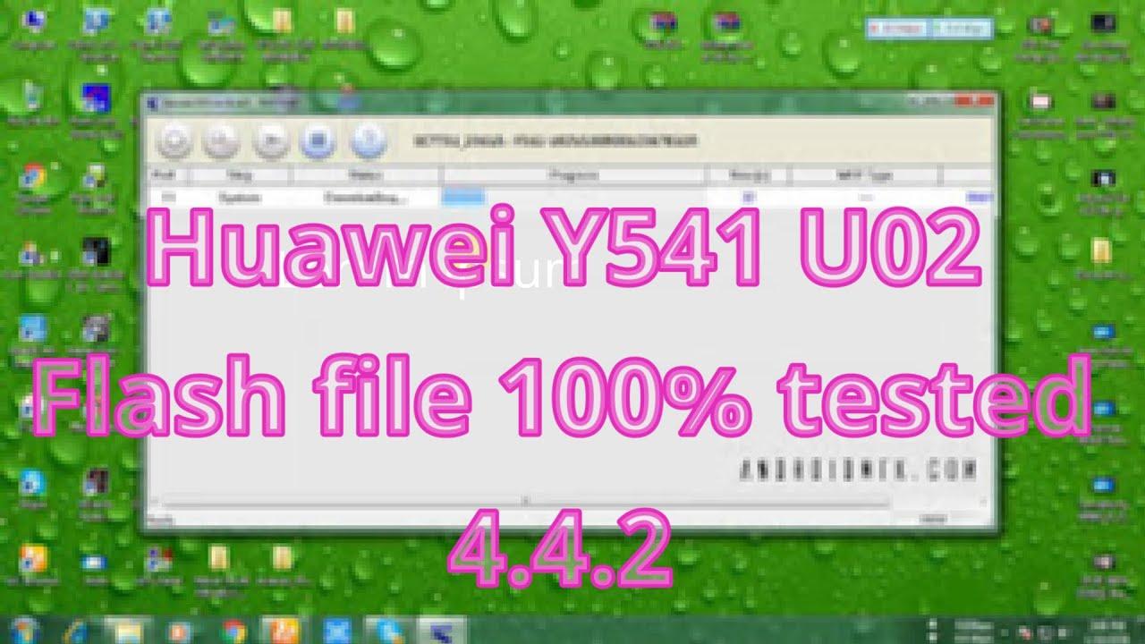 Huawei Y541 U02 flash file 100% tested 4 4 2 (Riyad mobile service )