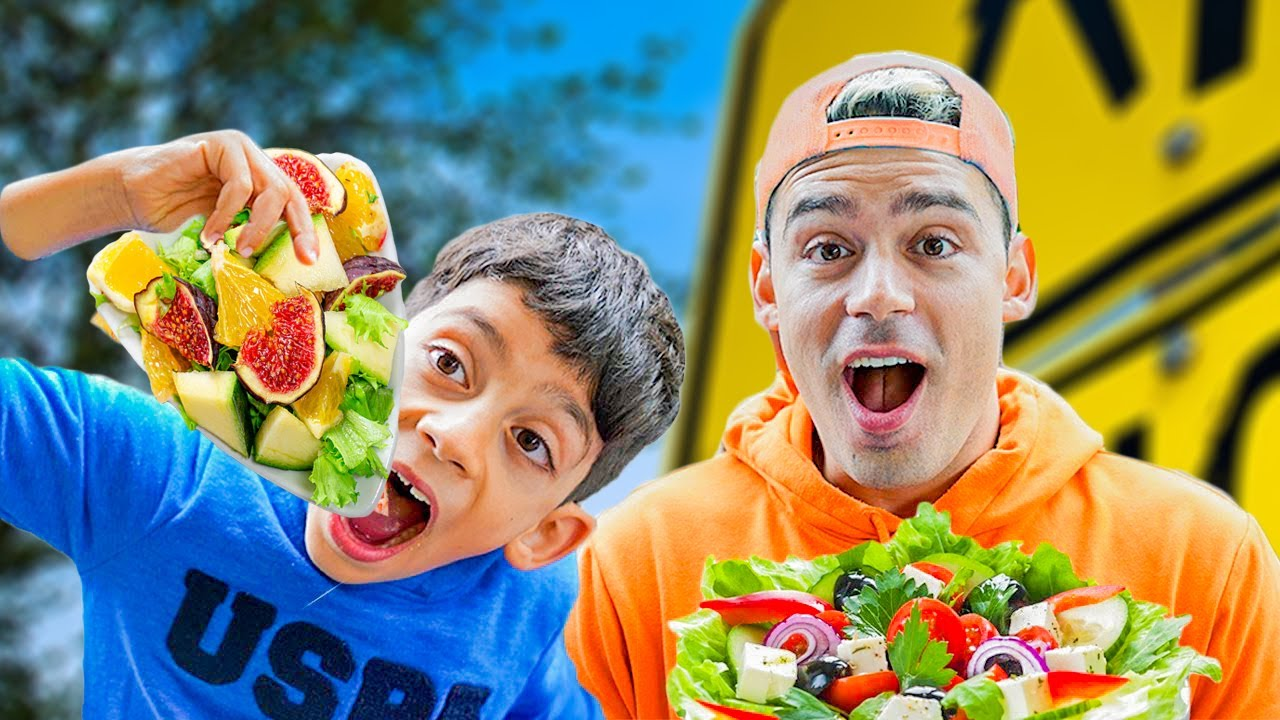Jason Play School and Eat not Healthy food