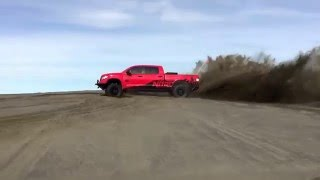 nitro gear and axle tundra project vehicle test run