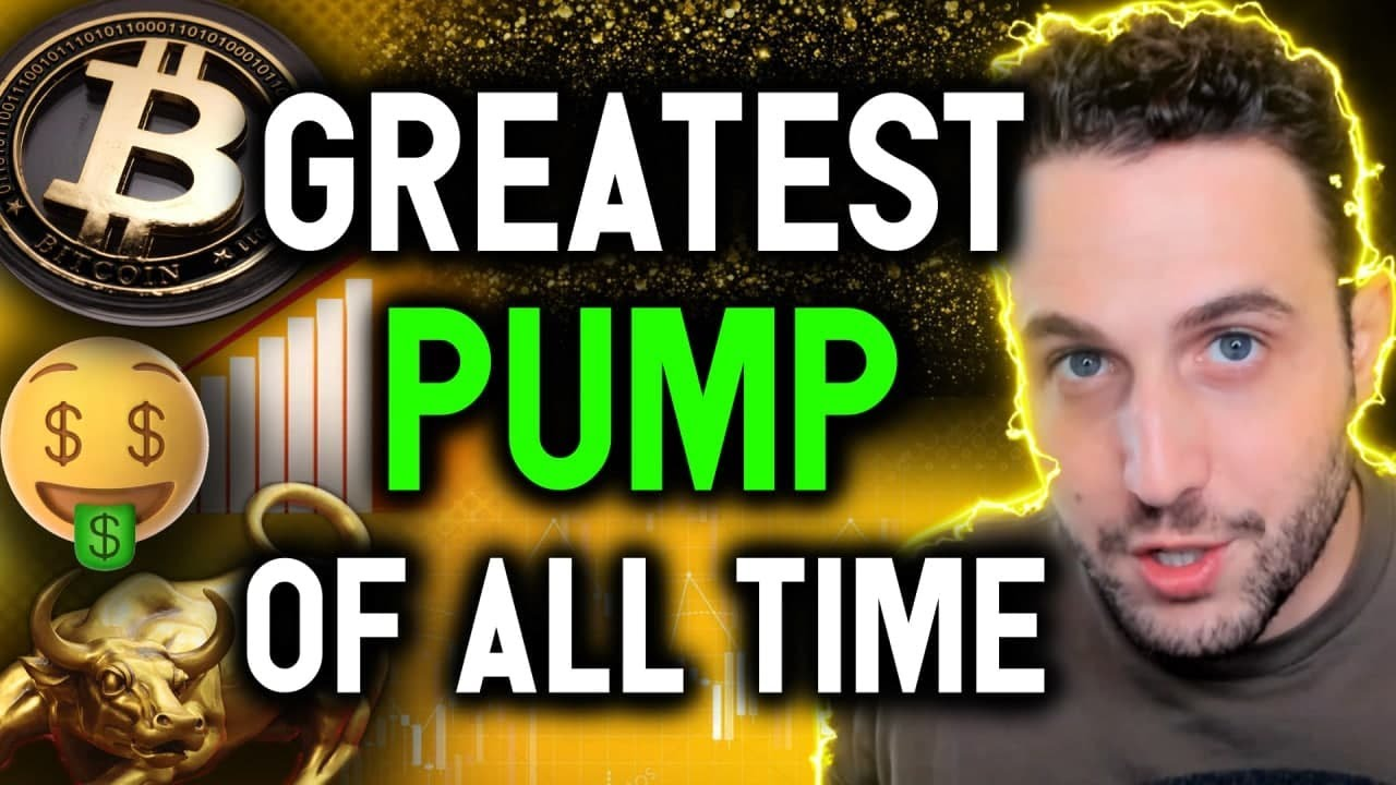 GREATEST PUMP OF ALL TIME AS BITCOIN SETS SIGHTS ON $85K LEVEL