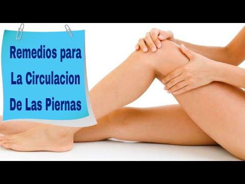remedios naturales para la mala circulación en las piernas