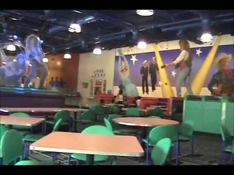 Food Court Seating Disneys All Star Music Resort