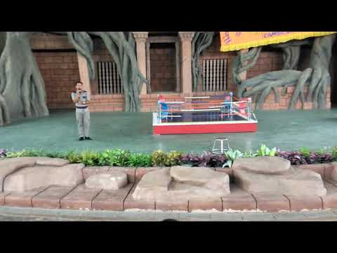 phnom-penh-safari-world,-funny-monkey-show