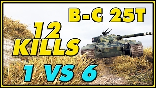 World of Tanks | BatChat.25t - 12 Kills - 8.2K Damage