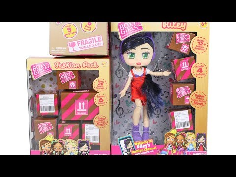 Boxy Girls Doll Fashion Packs Blind Boxes Unboxing Toy Review