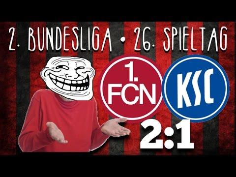 26. Spieltag • 1. FC Nürnberg : Karlsruher SC