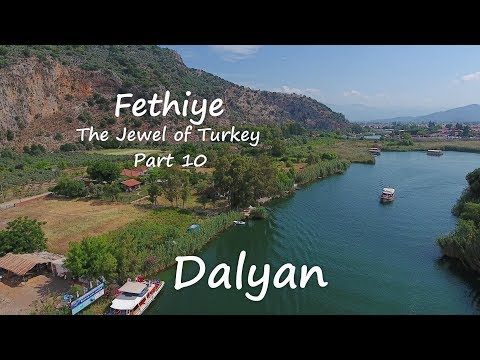 Fethiye the Jewel of Turkey part 10  Dalyan
