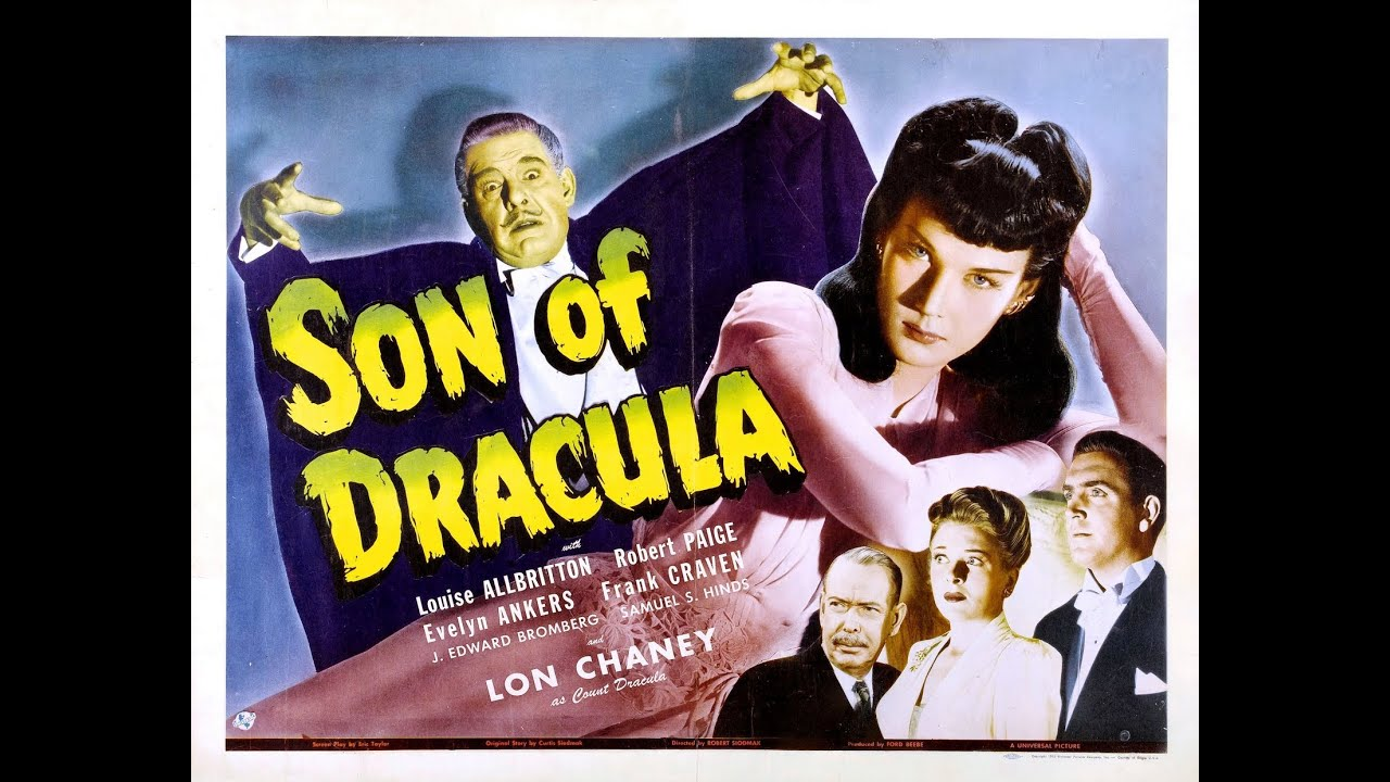 Son of Dracula (1943), Re-Release Trailer