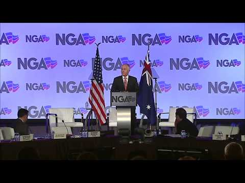 Address to the National Governors Association