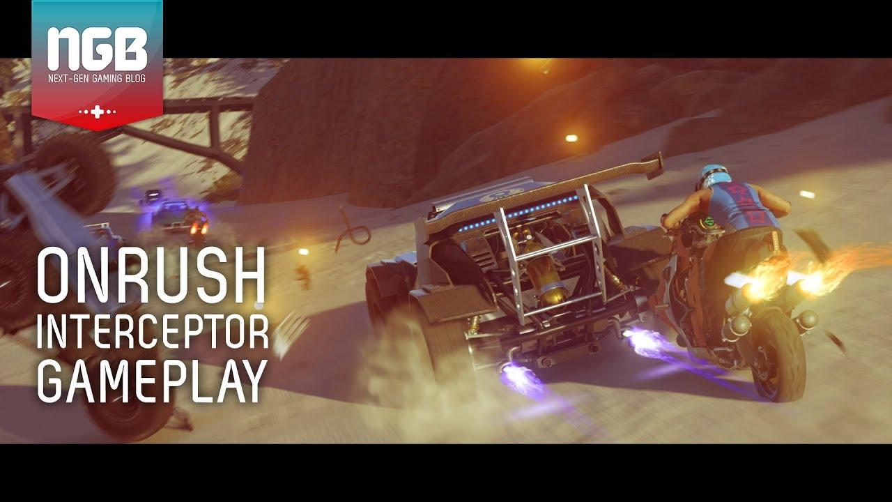 ONRUSH Gameplay - The Interceptor - Countdown Race