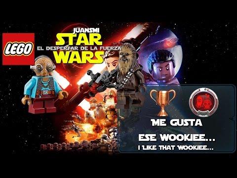 LEGO Star Wars: El Despertar de la Fuerza | Trofeo Me gusta ese wookiee