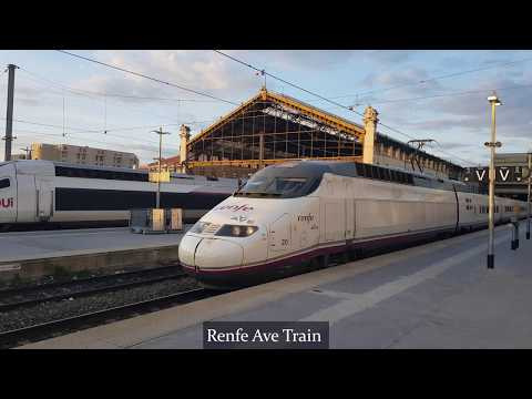 Trains In France: Marseille Central Station - St. Charles