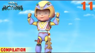 Vir : The Robot Boy | Vir Action Collection - 11 | Action series | WowKidz Action