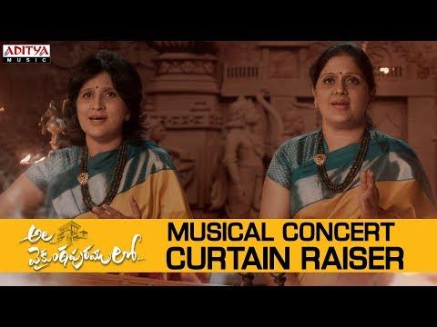 #alavaikunthapurramuloo---musical-concert-curtain-raiser-|allu-arjun-|trivikram|thaman-s