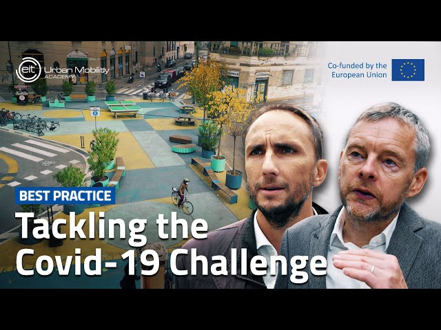 How can cities be agile to tackle the Covid-19 challenge? | With Tom Holbrook, Stefano Recalcati