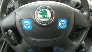 Применение NFC меток в машине (Using NFC tags in a car)