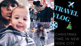 Christmas Time In NYC || TRAVEL VLOG! | The Sweetest Thing Blog