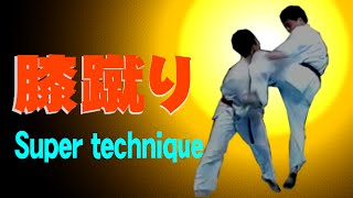 It is strong in the image training! 試合で膝蹴りを出すタイミング等...