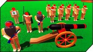 БИТВА ДЕРЕВЯННЫХ СОЛДАТИКОВ - Игра Wooden Battles Обзор и прохождение. Битва солдатиков