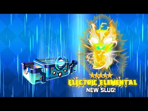 *NEW* ELECTRIC ELEMENTAL?!?! - SLUGTERRA SLUG IT OUT 2 GAMEPLAY!