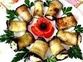 Вкусно - рулетики из баклажанов с сырной начинкой баклажаны рецепты
