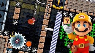 HAY QUE SER RAPIDO Y PRECISO - TOP SUPER EXPERTO   Super Mario Maker - MarkGamer03