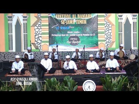SMP IT Asy-Syadzili ~ Abal Qosim ~ Festival Al-Banjari se-Jawa Timur di PPSQ Asy-Syadzili 2016