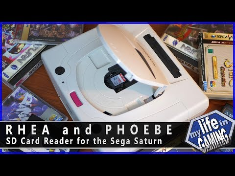 Saturn Micro Sd Karte.Rhea And Phoebe Sd Card Reader For The Sega Saturn My Life In