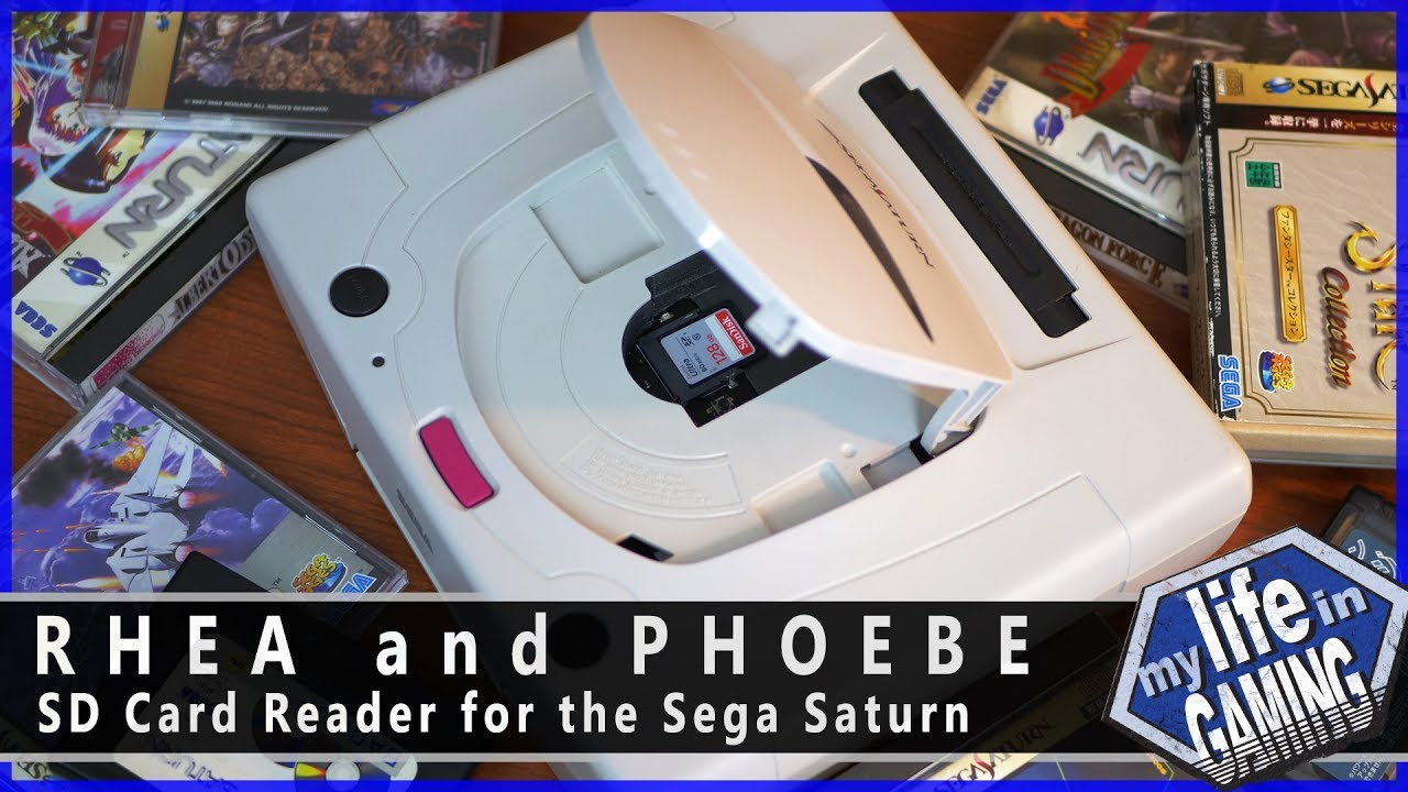 micro sd karte saturn Rhea and Phoebe   SD Card Reader for the Sega Saturn / MY LIFE IN