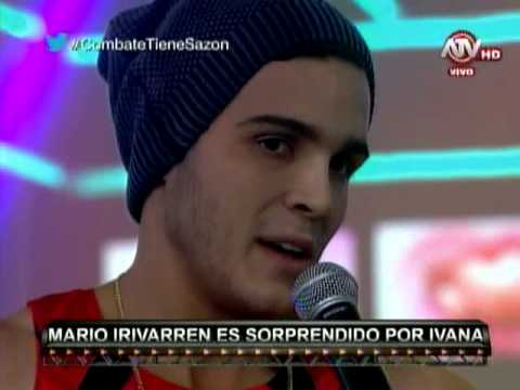 COMBATE: Ivana Yturbe prepara sorpresa de amor para Mario Irivarren