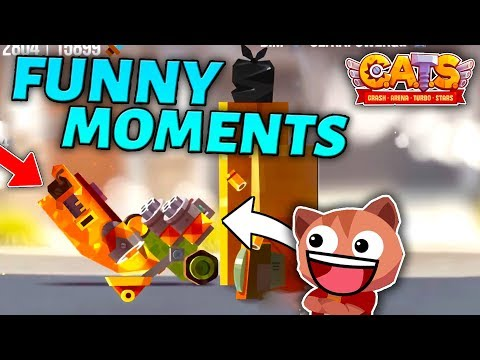 FUNNY C.A.T.S MOMENTS - Best Battles & Epic Fights (Crash Arena Turbo Stars)