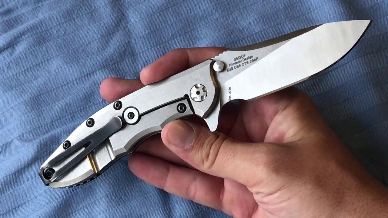 Custom Zero Tolerance ZT 0562CF Knife with Choil Mod by Ranger Jon Outdoors