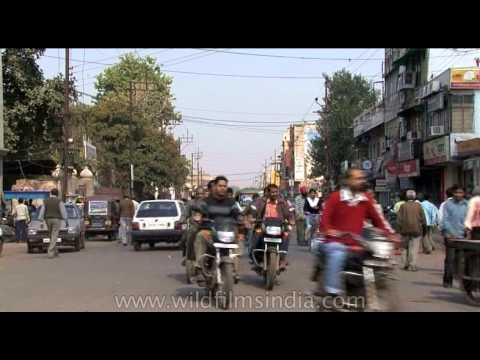 Driving through Gwalior city- Madhya Pradesh