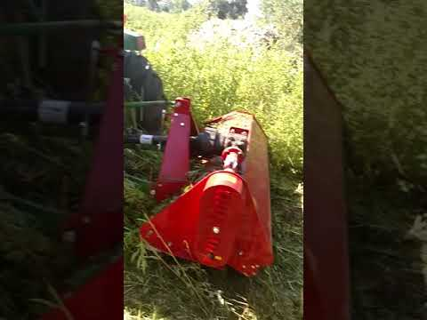 Titan Flail mower review Extreme mowing by Adam Lynch