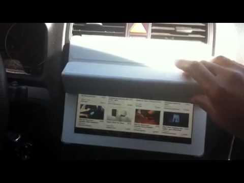 Easy IPad2 Dash Mounting