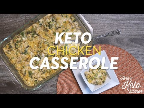Keto Chicken Casserole: Keto Comfort Food--A Low Carb Dinner Recipe (Easy!)