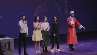 Выступление театра Маска г. на праздновании Дней Москвы, организатор Ассоц Мир, Глобус, Торревьеха.