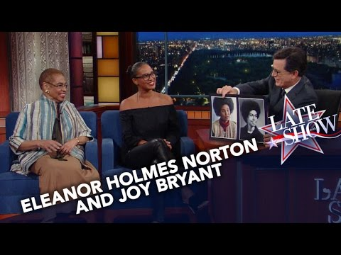 Eleanor Holmes Norton And Joy Bryant Want To Raise Women's Consciousness