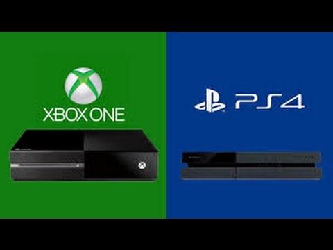 PS4 Home Screen And Menu vs Xbox 1 Home Screen And Menu