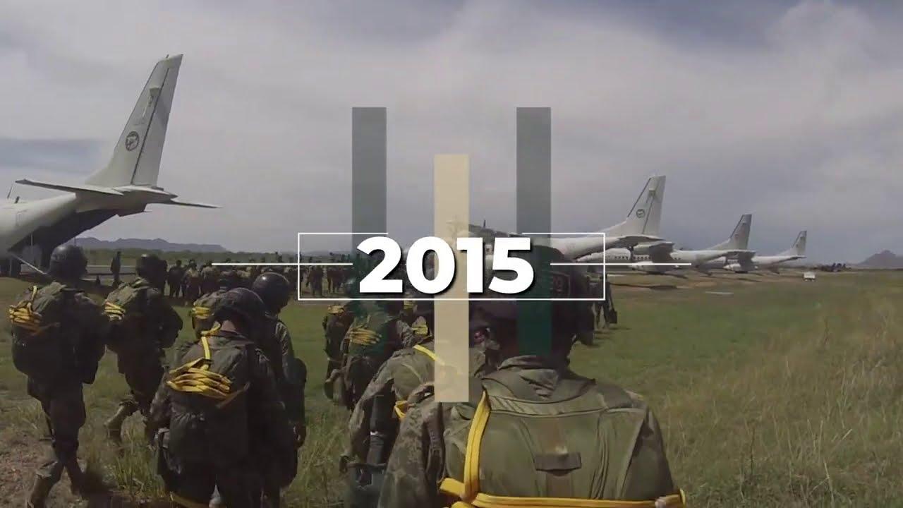 2015, #Adiestramiento de la  Brigada de Fusileros Paracaidistas, Santa Gertrudis, Chih.