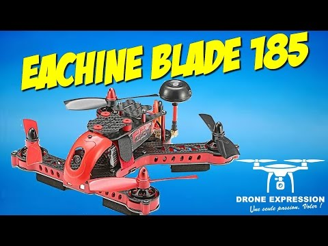 Review Unboxing Presentation RACER EACHINE EB185 + LUNETTES