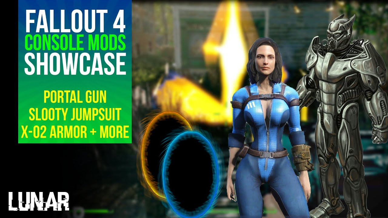 Fallout 4 console mods week 13 portal gun legendary effects x 02 power armor more youtube - What consoles will fallout 4 be on ...
