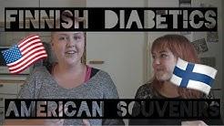 Finnish diabetics test American glucose thingies feat. Enni (tekstitetty suomeksi)