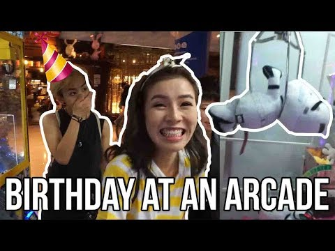 Birthday at an arcade(Timezone) - Vlog #41