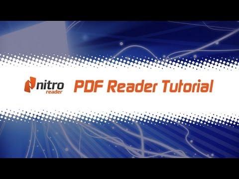 Nitro Reader (PDF Reader) Tutorial Deutsch