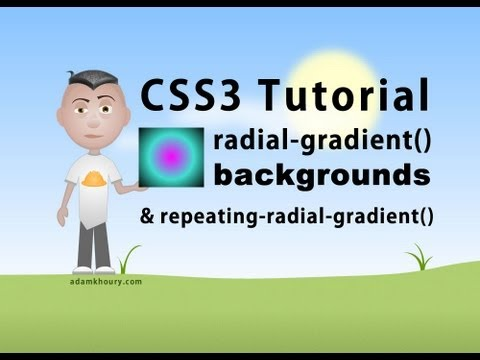 CSS3 radial-gradient Background Parameters Tutorial Radial Gradient