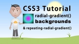 CSS3 radial-gradient Background Parameters Tutorial Radial Gradient