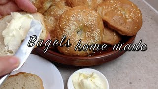 Home Made Bagels Thermochef Video Recipe Cheekyricho